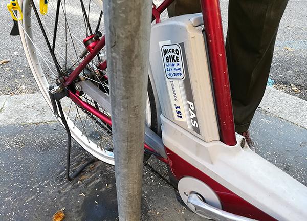 Bicicletta pedalata assistita