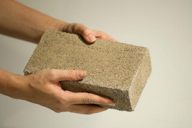 Materiali edili ecosostenibili: : mattone ecologico ottenuto dai batteri