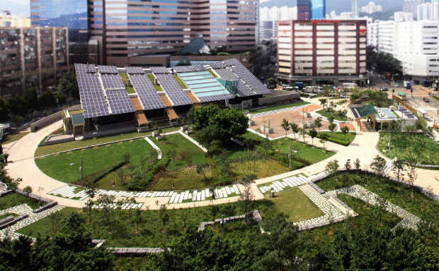 1 - ZCB Zero Carbon Building - Courtesy of Ronald Lu and Partners