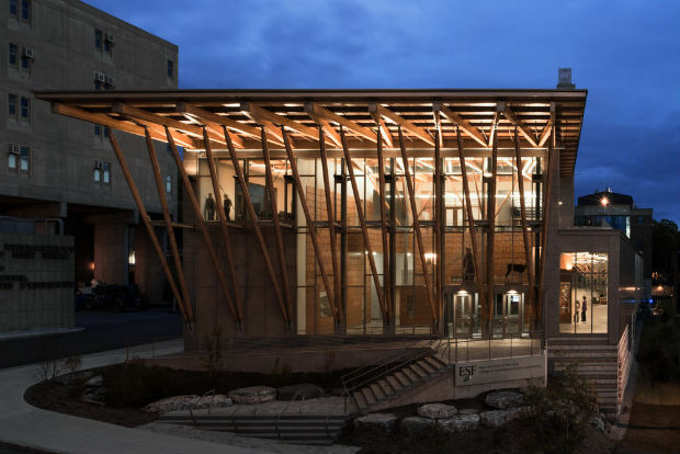 5 Gateway Center – SUNY-ESF College of Environmental Science & Forestry and Architerra, Syracuse, New York