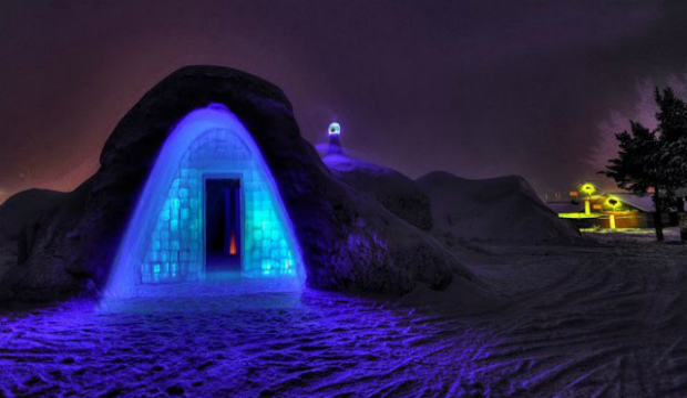 NORVEGIA- Bjorli Ice Hotel