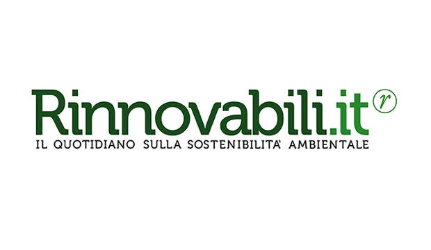 L'ombrello da bicicletta per pedalare quando piove