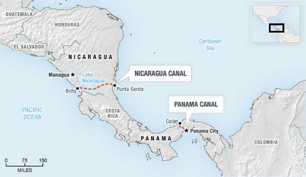canale del nicaragua