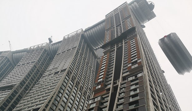 grattacielo orizzontale Cina