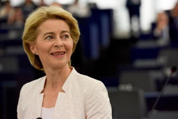 nuova commissione europea von der leyen