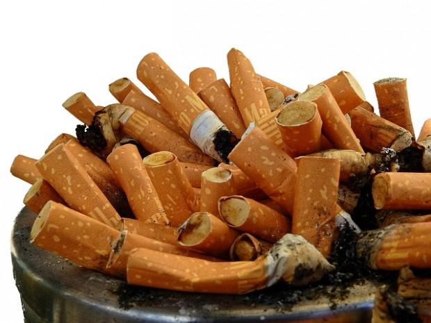 mozziconi di sigaretta