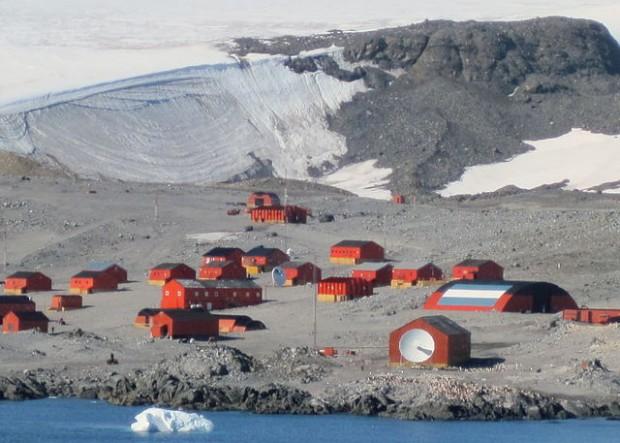 temperature Antartide