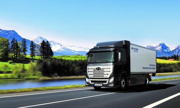 camion a idrogeno Hunday