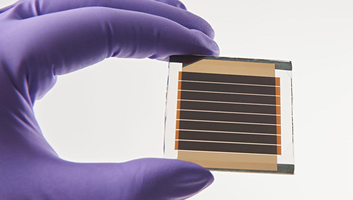 mini modulo solare perovskite