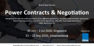 Power Contracts & Negotiation Singapore