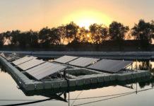 fotovoltaico sull'acqua