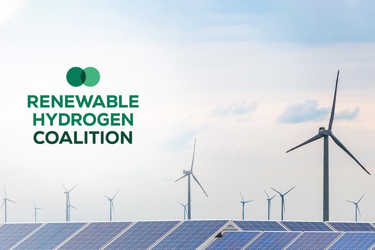 Colazione dell'idrogeno rinnovabile