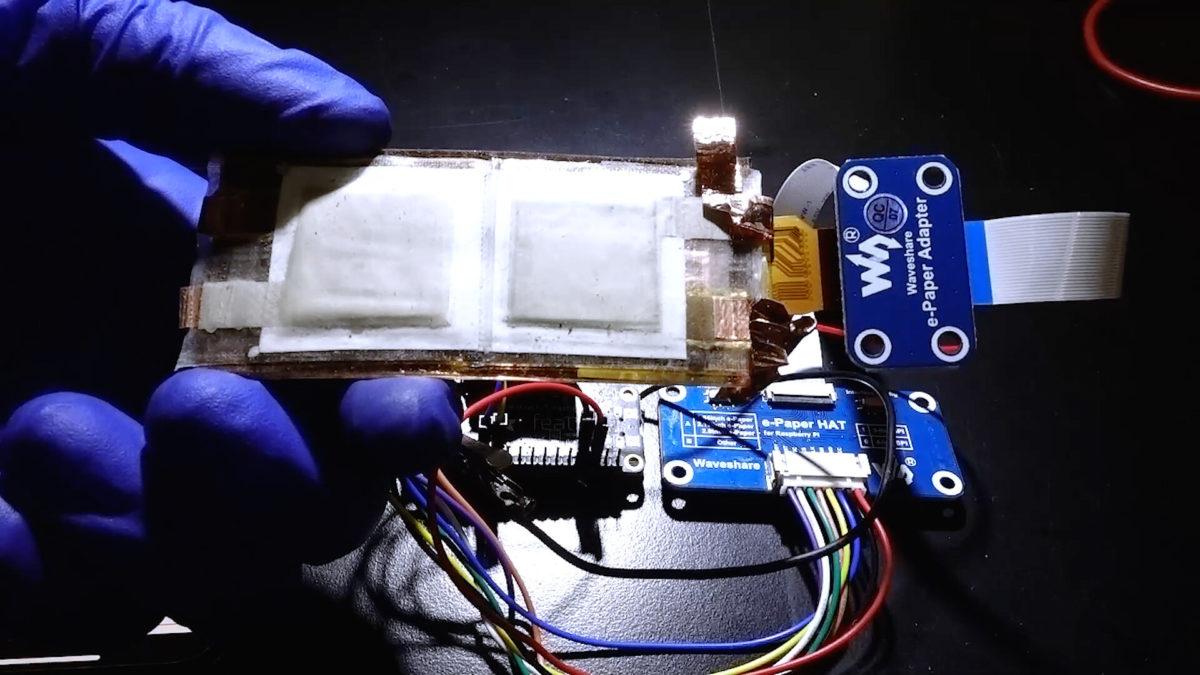 batteria stampata
