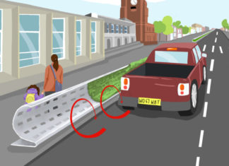 Barriere stradali curve