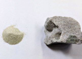 Calcestruzzo senza cemento