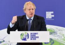 Clima: UK alzano gli obiettivi, -78% entro il 2035
