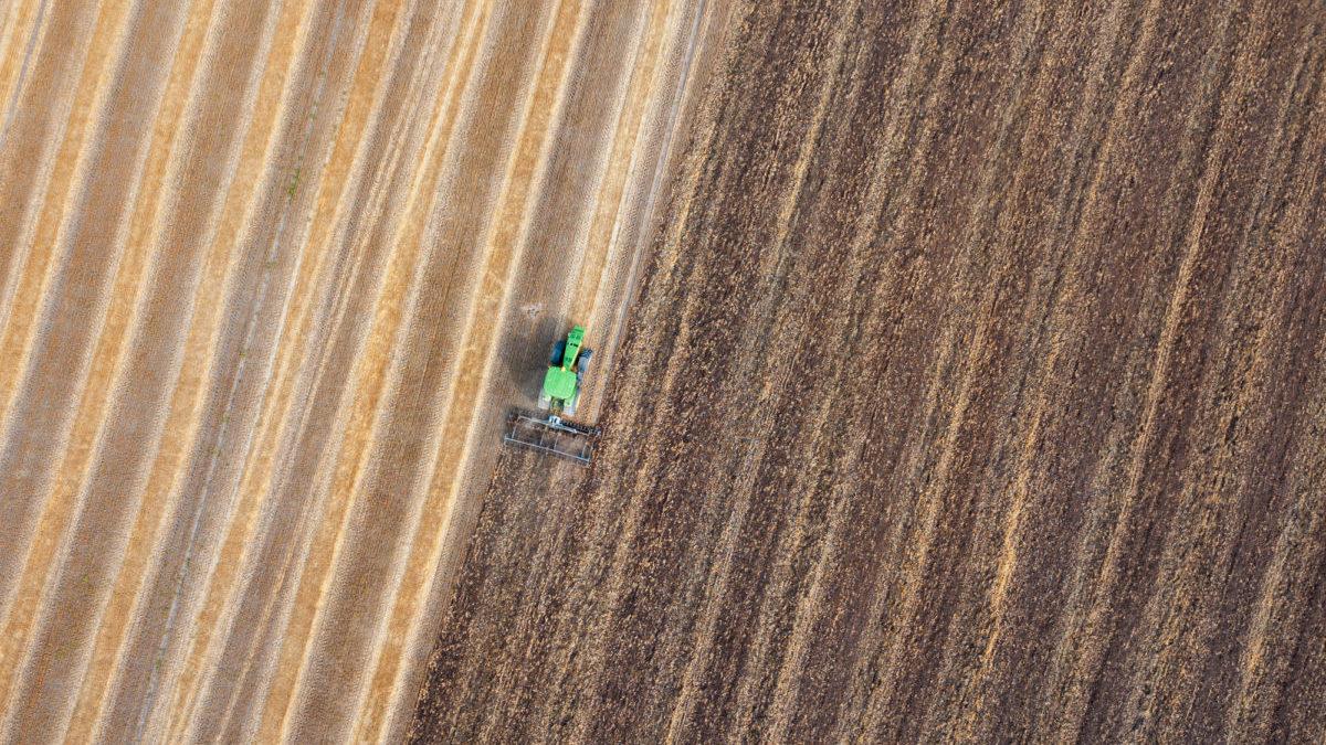 Emissioni in agricoltura: giù del 30% senza aratura