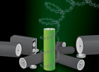 batteria senza metalli