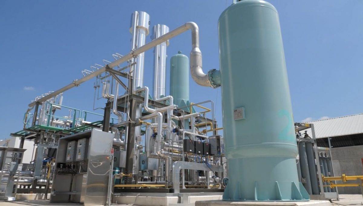 impianto bio industria