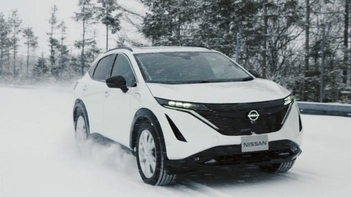 Nissan Ariya test