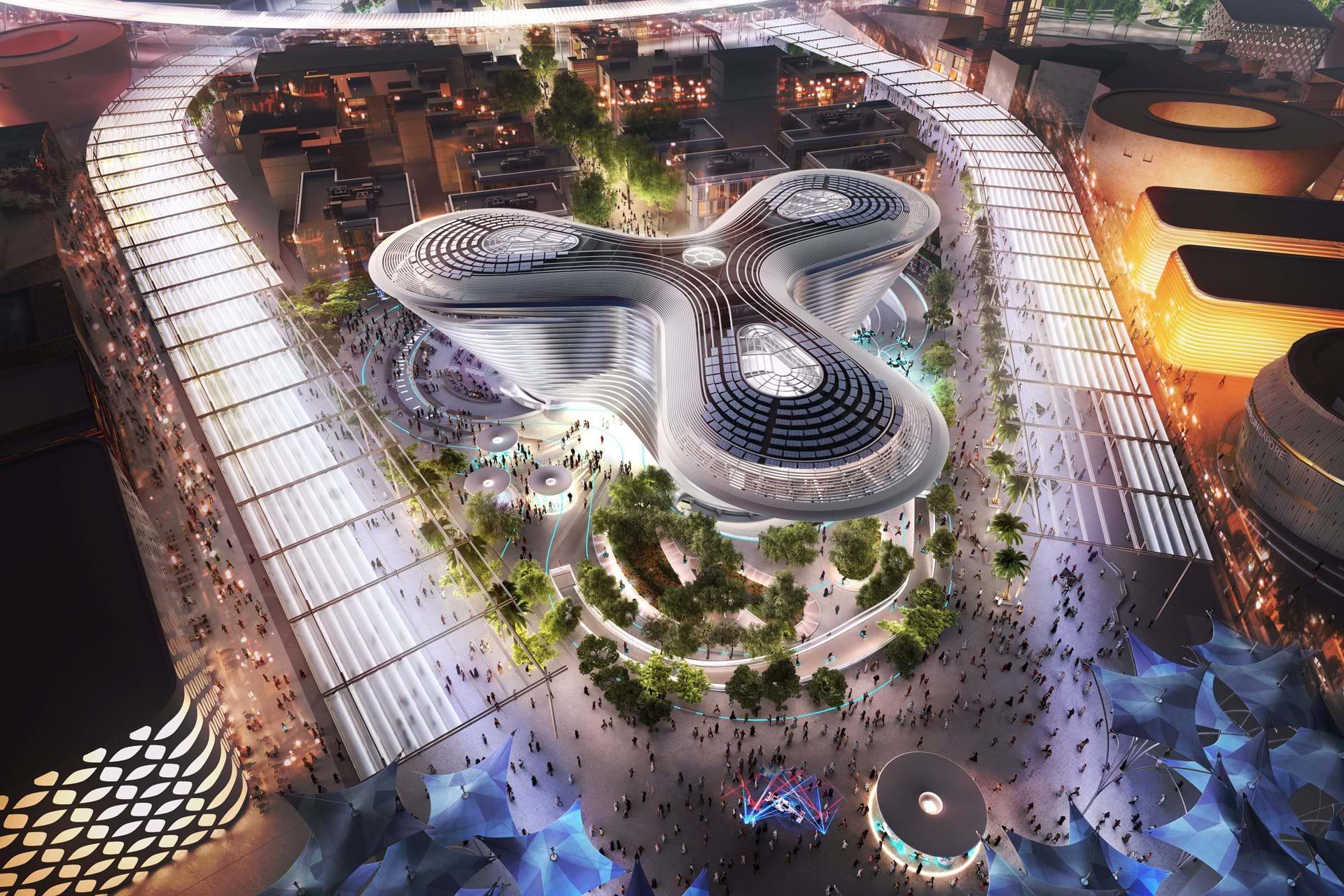 Alif Padiglione della mobilità Expo 2020 - credits: Foster + Partners