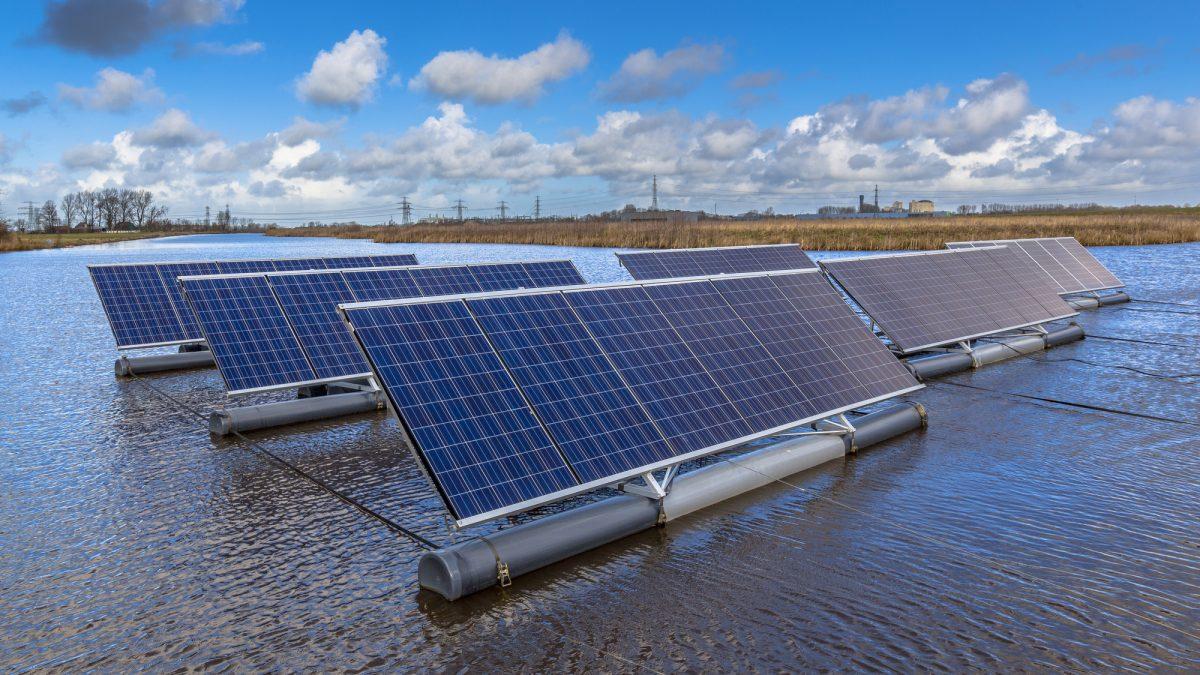 Pannelli fotovoltaici galleggianti
