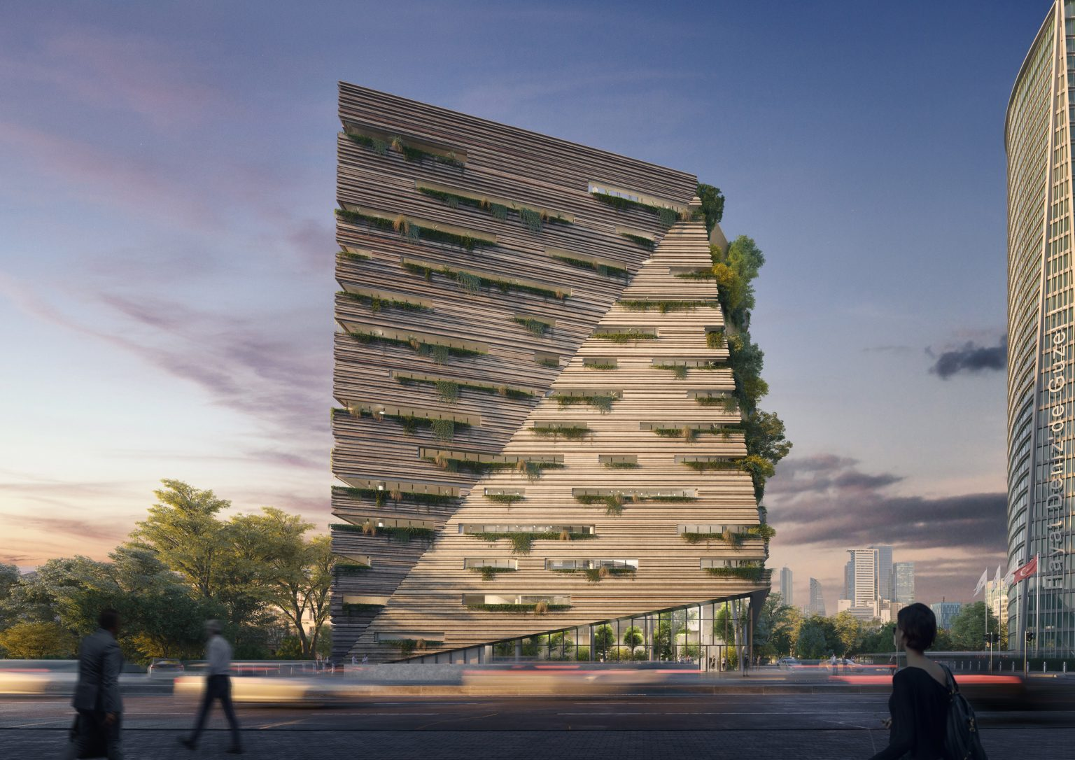 Greenbuilding sede della Sanko - credits: RMJM Milano