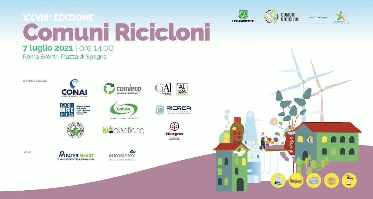 comuni ricicloni 2021