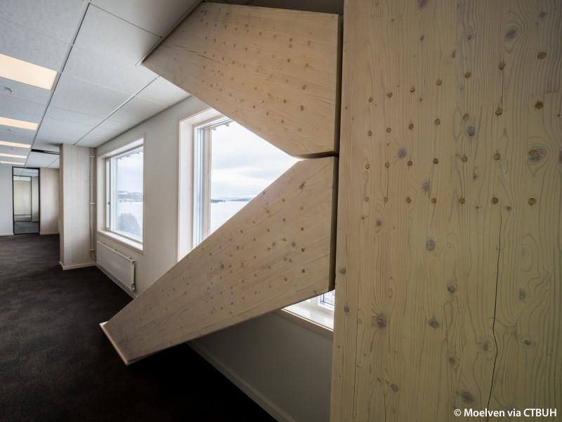 Il grattacielo in legno più alto del mondo - Credits: Moelven via CTBUH