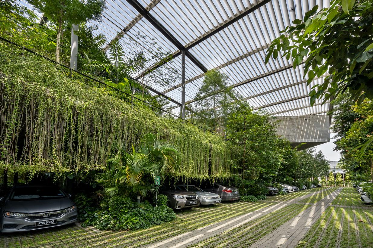 Biofilia e la fabbrica nella foresta - Credits Lin Ho Photography