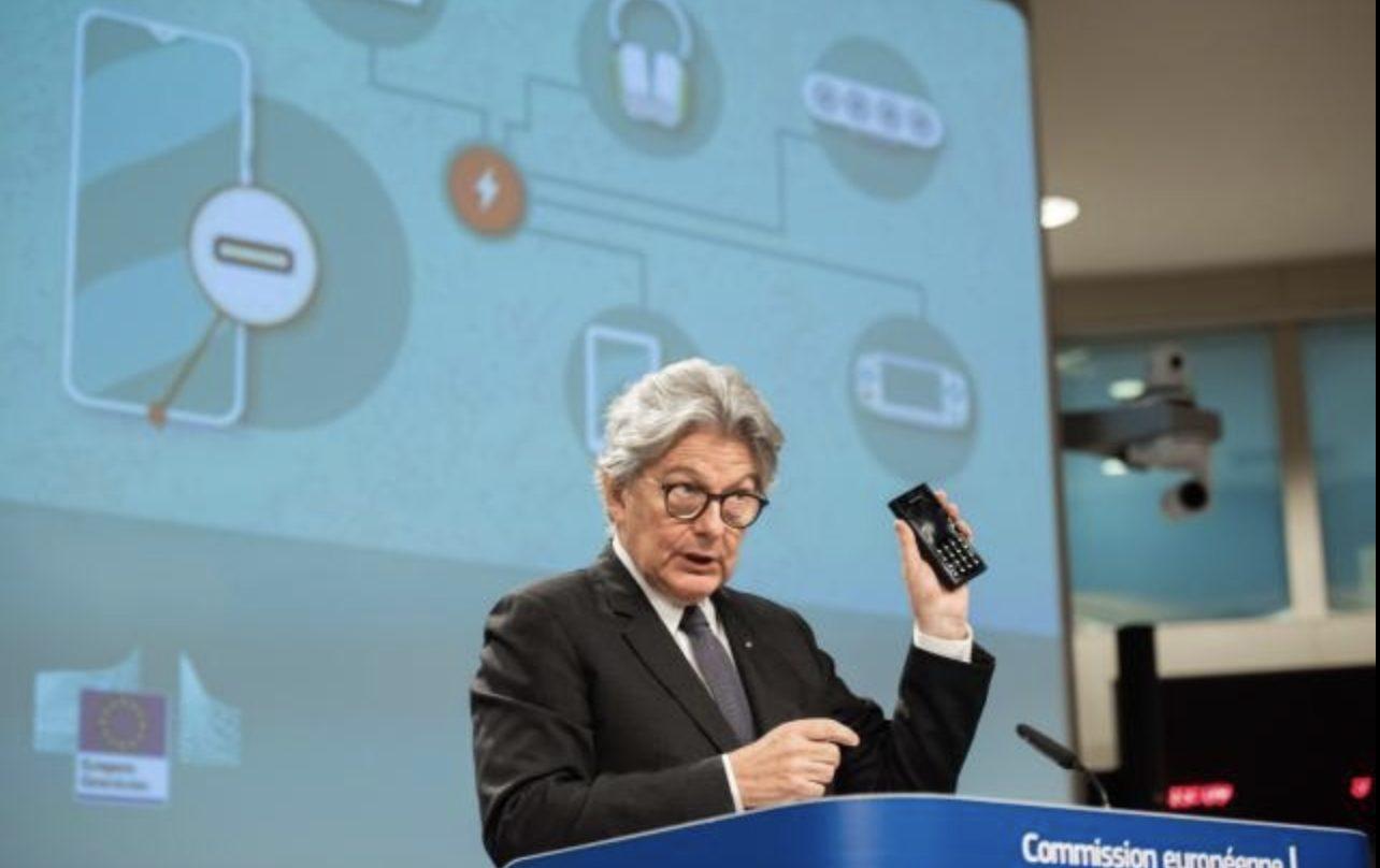 caricabatterie comune UE