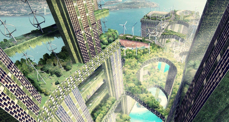 Singapore 2100 - credits per gentile concessione di WOHA